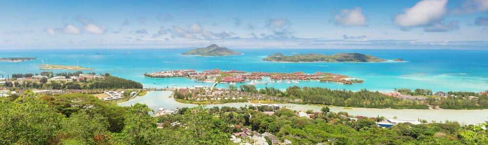 """תמונה פנורמית תצפית """"Victoria viewpoint"""" - האי אדן, סיישל"""
